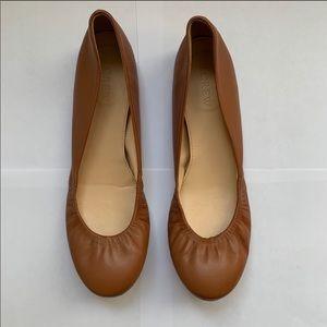JCrew Leather Ballet Flats Size 7